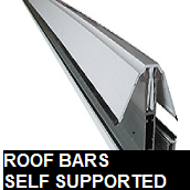 Roof bars self supported