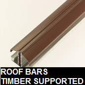 Roof bars timber supported