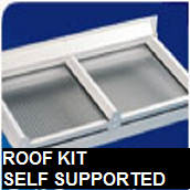 roof kit self supported
