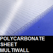 Polycarbonate multiwal